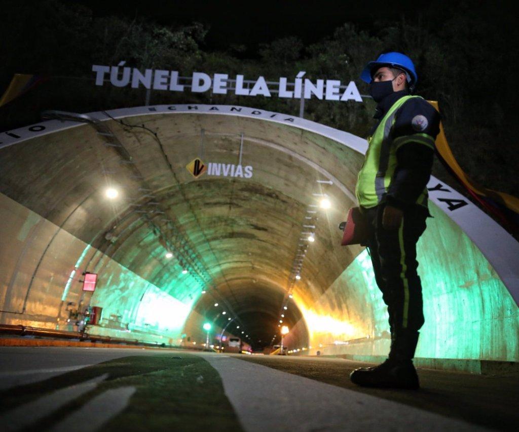 cruzado el tunel