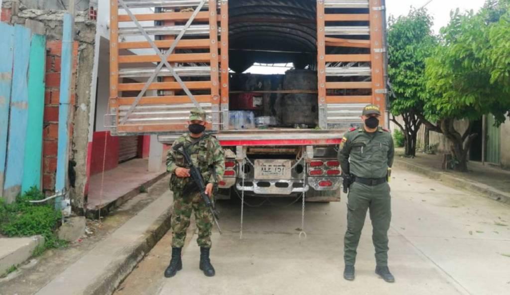 combustible de contrabando Bolívar