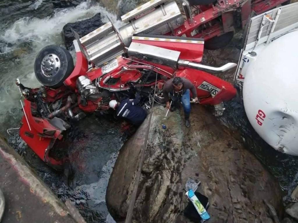 Accidente cisterna