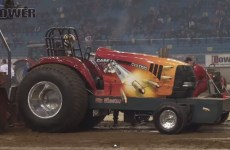 Impressie superstock tracteur pulling intérieur