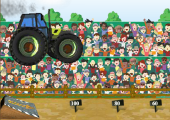 tractor jumping