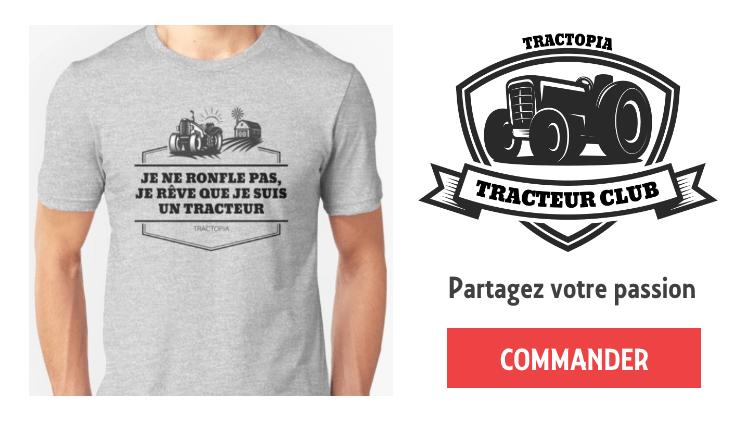 tracteur tee shirt