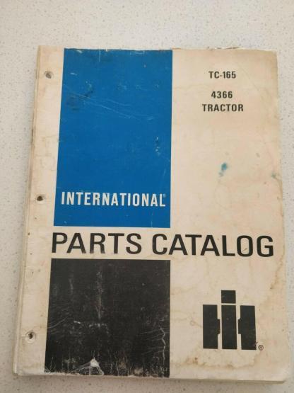 international 4366 tractor parts catalog TC165