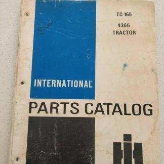 international 4366 tractor parts catalog TC165