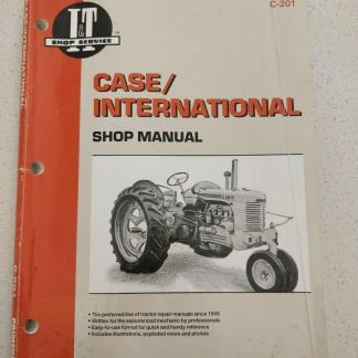 Case International Shop Manual C-201
