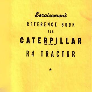 Cat R4 service manual