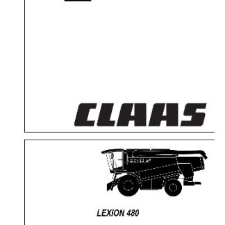 lexion 480 repair manual