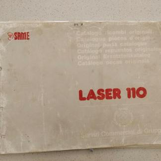 Same Laser 110 catalog parts book