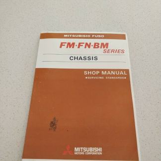mitsubishi fuso FM FN BM Series chassis Shop Manual Servicing Standards