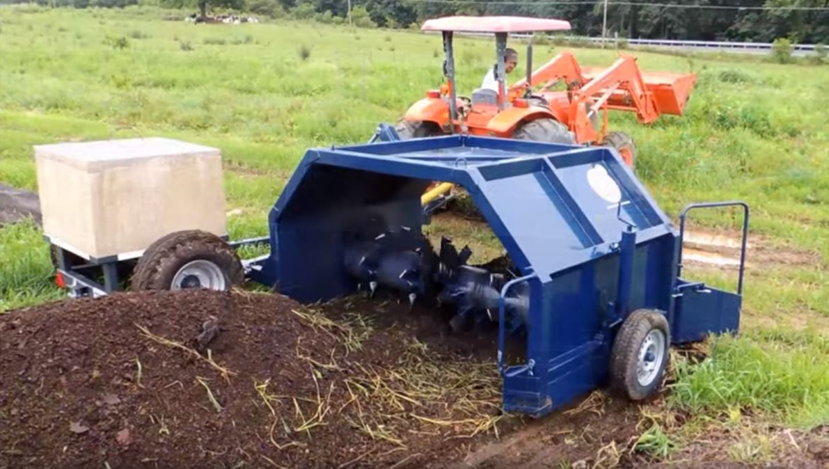 Using Small Tractors To Improve Composting Systems In