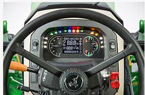 John Deere 5100E steering