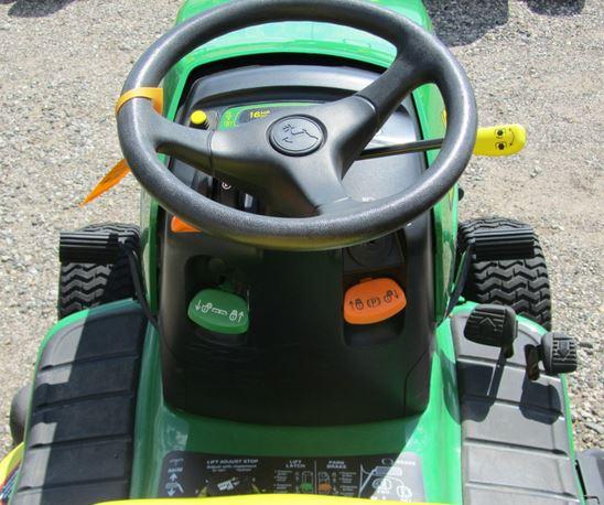John Deere LT160 steering