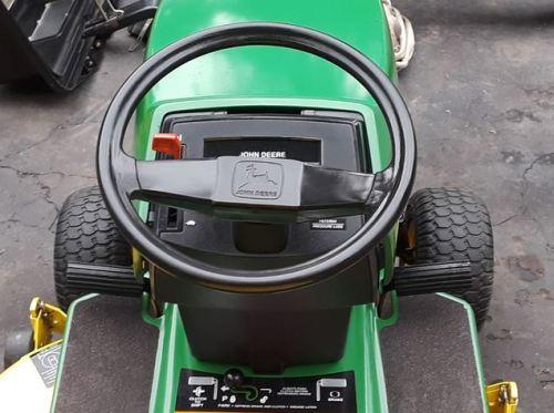 John Deere STX38 steering