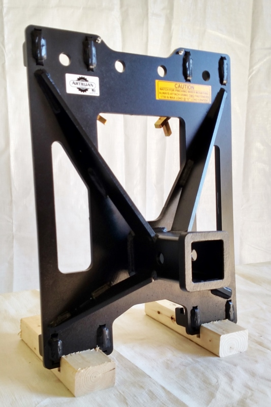 Loader Mounted Receiver Hitch