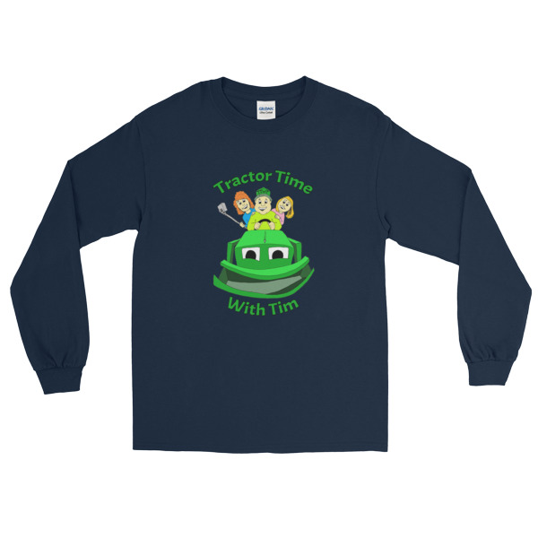 TTWT Lettered Long Sleeve T-Shirt (up to 5XL)