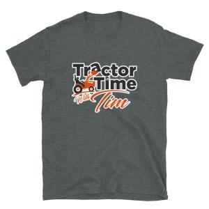 Lightweight Unisex TTWT Tee – Orange Logo