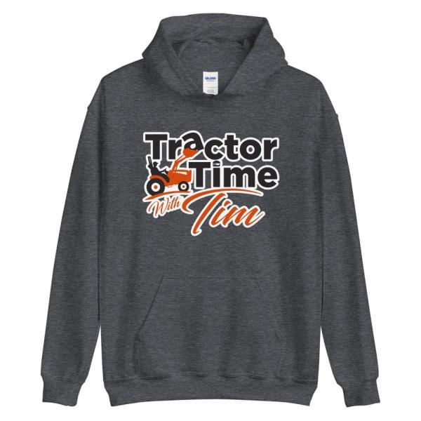 Unisex TTWT Hoodie – Orange Logo