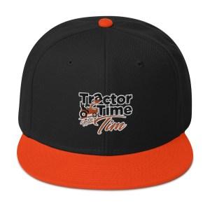 TTWT Snapback Hat – Orange Logo