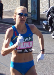 Paula Radcliffe by John Dunning