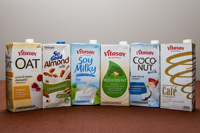 dairy free milk options
