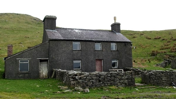 Yet another perfectly habitable home in mid Wales... if only there was a road leading to it