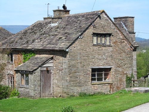 Thankfully this house near Longtown has been restored