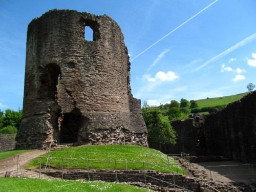 Skenfrith Castle - where it all begins