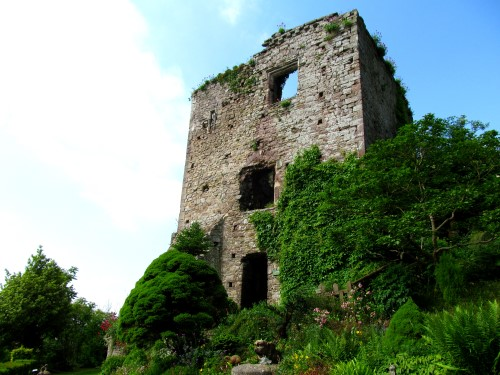 It's well worth exploring Usk Castle, one of Gwent's hidden gems