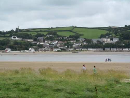 Looking across the Towy towards Ferryside... an 18-mile walk away