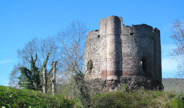 The castle at Longtown