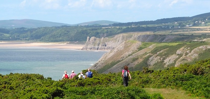 Carmarthen Bay and Gower