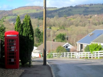 No longer a phone box but an information point