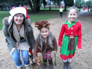 Christmas fun at parkrun
