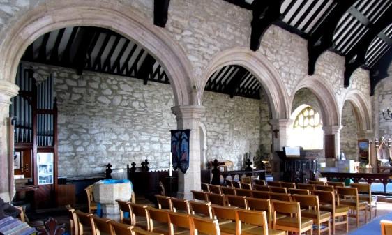 St Hywyn's Church, North Wales Pilgrim's Way