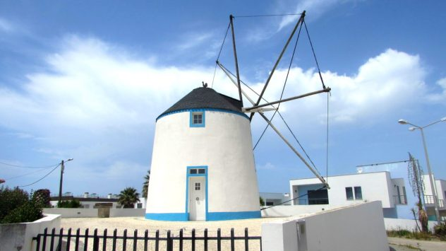 Windmill, Silver Coast, Portugal