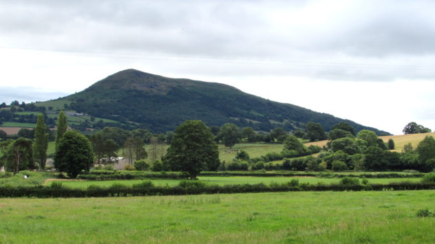 The Skirrid, Abergavenny, Black Mountains, Brecon Beacons National Park