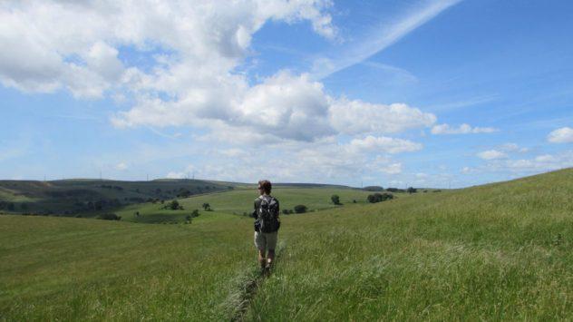 Rhymney Valley Ridgeway Walk, Caerphilly, South East Wales