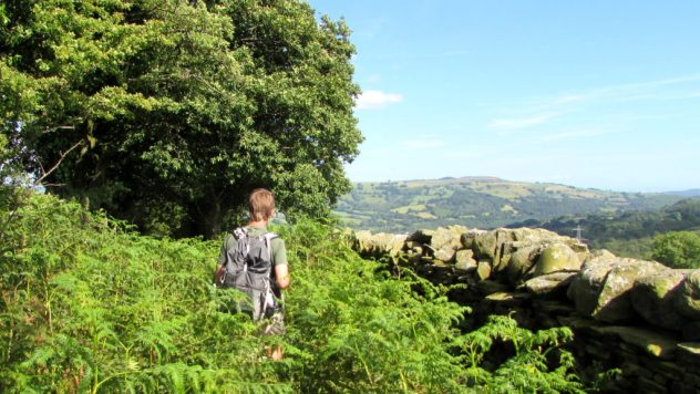 Rhymney Valley Ridgeway Walk, Caerphilly, South East Wales