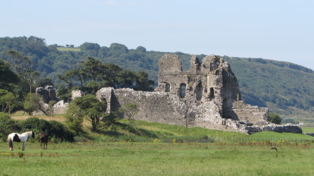 Ogmore Castle, Vale of Glamorgan