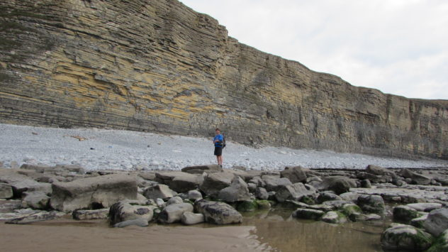 Glamorgan Heritage Coast near Dunraven, South Wales