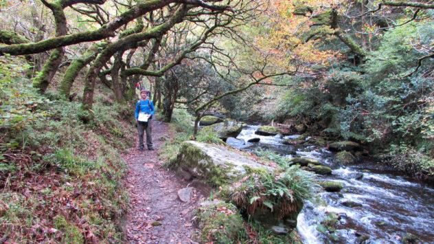 East Lyn river, Exmoor National Park, Devon