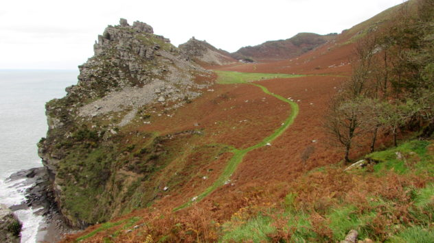 Valley of the Rocks, Exmoor National Park, Devon