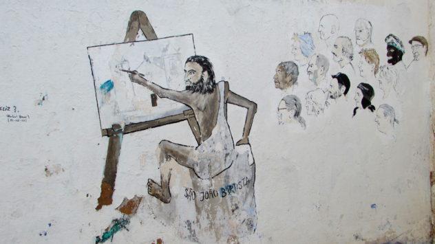Street art in Barão de São João
