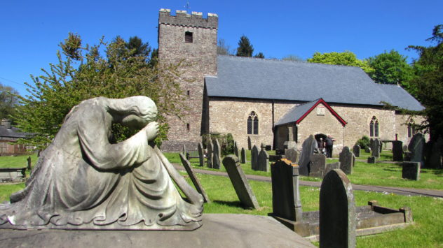 St Michael's and All Angels, Lower Machen, Newport, South Wales