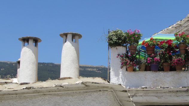 Chimneys, Alpujarras, Sierra Nevada