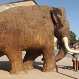 Woolly mammoth, Padul, Lecrin valley, Granada