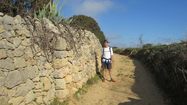 Drystone wall, Salgados, Algarve