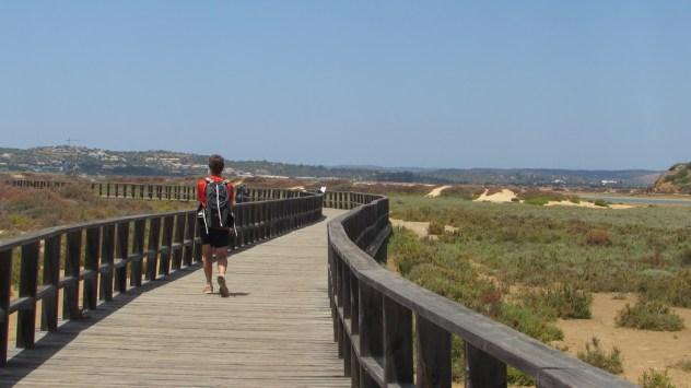 PR2 Ao Sabor da Maré, Rio de Alvor, Western Algarve, Portugal