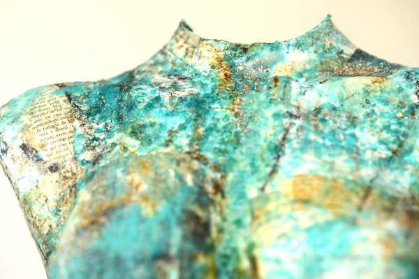 Astrid III Detail scaled Tracy Casagrande Clancy Encaustic Mixed Media