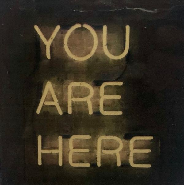 You Are Here Tracy Casagrande Clancy Encaustic Mixed Media